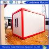 El bajo costo prefabricó la casa viva del envase hecha de los materiales de construcción de la estructura de acero