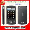 最高G2クォードバンド単一カードWiFi携帯電話