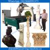 Skulptur-hölzerner schnitzender Form CNC-Holz-und des Steinengraver-4 Mittellinie CNC-Fräser für Stein