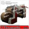 Machine d'impression flexographique de 4 de couleur de pain d'emballage ci de papier (séries CH884)
