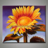 Картина маслом 100% Handmade Sunflower на Canvas (KLSF-0003)