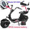fetter Gummireifen Usun Harley Citycoco Bewegungsroller des Rad-1500W elektrisch