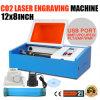 40W de Laser die van Co2 Scherpe Machine met Haven USB graveren