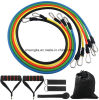 Resistance Band Set Ankle Strap Exercise Chart Fitness Flexibility Training