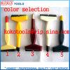 Mango de plástico de colores pintura para Cepillo 628