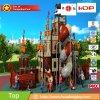 幼稚園の屋外の運動場の娯楽海賊船のテーマの子供公園HD17-135A
