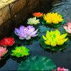 Best-Seller Estilo atraente Flores artificiais PU Lotus Spray e EVA flutuar Lotus
