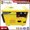 звукоизоляционный тепловозный генератор 6kVA/7kVA с ценой по прейскуранту завода-изготовителя