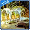 De nieuwe Tent van de Koepel van de Stijl Transparante, de Opblaasbare Tent van de Bel, de Opblaasbare Bol van de Sneeuw met Tunnel voor de Vakantie van de Reclame van de Vrije tijd