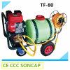 80liter Pulvérisateur de jardin à essence à essence portable avec machine à tisser (TF-80)