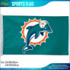 Printed fait sur commande Miami Dolphins NFL Football 3 ' x5 Flag