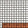 Acoplamiento de alambre tejido 8X8 inoxidable del acero