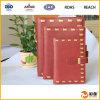 Caja de encargo del cuaderno de Leateher del surtidor de China
