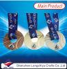 Médaille personnalisée par médaille ronde en métal de forme de butées toriques