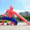広告のための膨脹可能な漫画のスパイダーマン