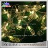 O cabo ao ar livre ajustável 2700k do PVC do diodo emissor de luz 230V IP44 da luz 20m do feriado da luz da decoração do Natal 180 aquece a luz branca da corda do diodo emissor de luz
