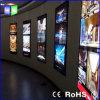 Affichage de fenêtre acrylique pour la publicité Boîte à lumière LED