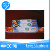 Feuille d'emballage alimentaire en aluminium rapide pour l'alimentation papier