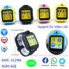 Memoria de 4G Reloj GPS Tracker con la cámara y WiFi D18s
