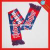 Изготовленный на заказ акриловые изготовленный на заказ шарфы футбола