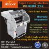 7 het Scherm van de Aanraking van de duim programmeerde de Hydraulische Automatische Scherpe Machine van het Document van de Grootte van 520mm A3 A4 Digitale