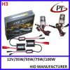 12V 35W 55W H3 HID Xenon Conversion Kit, H3 HID Headlight Kit, H3 HID Xenon Kit