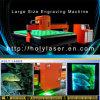 Святейший гравировальный станок стеклянного лазера лазера крупноразмерный