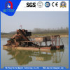 ISO/Ceによって承認される小さいですか小型タイプ熱い販売のための高容量の砂または金鉱山の浚渫船