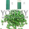 Polvo plástico verde del pigmento de Pearlecent Masterbatch