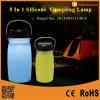 携帯用太陽動力を与えられた折るLEDのキャンプのランタン