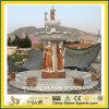 Pedra de mármore e granito Bebedouro para Paisagem / Decoração de Jardim
