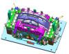 Автоматическое вспомогательное оборудование прессформы для автомобиля Тойота