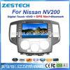 GPS Navigatior (ZT-N706)를 가진 닛산에서 주춤함 Nv200 차 DVD 플레이어
