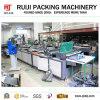 Automatische Plastikpost-Eilbeutel, der Maschine mit Frachtbrief-Tasche herstellt