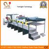 La alta tecnología 2/4/6 láminas de papel giratorio bobinador Shaftless transversal de la máquina la máquina