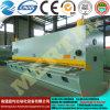 Подгонянная плиты гильотины механического инструмента CNC машина 12*6000mm гидровлической режа