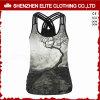 De in het groot Modieuze Goedkope Mouwloos onderhemden Activewear van de Druk voor Vrouwen (eltci-63)