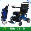 スマートな椅子リチウム電池が付いている軽量の携帯用折る力の車椅子