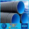 Sn8 Dn200-800の大きいプラスチック下水管管のHDPEの波形の管