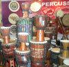 バタのドラム、TamboraのDjunのドラム(Tambourine) (習慣)