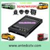 Kit de CCTV de táxi com câmaras de 2/4 1080P de Rastreamento por GPS DVR móveis 3G 4G