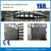 La puerta del garaje de PU de alta calidad Línea de producción y frigorífico.