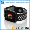 Cinta do bracelete dos esportes do silicone para a faixa do esporte do relógio de Apple