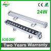 Proyecto de buena calidad 24W AC85-25V LED Bañador de pared