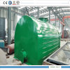Desulfurztion Decoloration Tire Oil Recycling Plant 10tpd