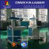 Etiqueta de plástico del laser de la fibra para la fibra de madera de acrílico del vidrio cristalino 10 20W 30watts del PWB del PVC de los Ss de la joyería del no metal del metal