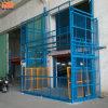 Ascenseur portatif de plate-forme d'entrepôt de marchandises d'ascenseur des prix hydrauliques électriques de plate-forme