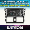 トヨタVios 2014年のCarのためのWitson Car DVD DVD GPS 1080P DSP Capactive Screen WiFi 3G Front DVR Camera