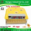 De automatische Incubator van het Ei van het Gevogelte met 48 Eieren