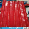 PPGI Farbe beschichtete gewölbtes Stahlblech für Dach-Gebrauch